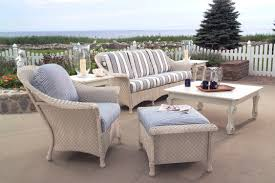 Wicker Chairs Lloyd Flanders White Outdoor Furniture
