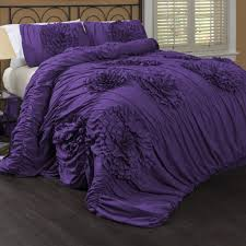 sensational image purple comforter sets bedroom ideas