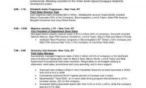 Sample Resume For Retail Branch Banking Fresh Beauty Sales Associate Example 1005 O