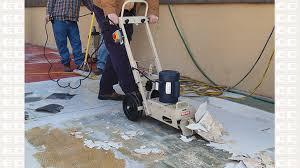 8 manual tile shark floor edco