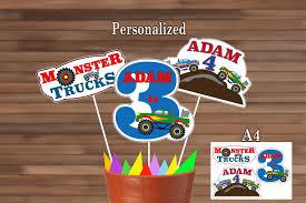 100 Monster Truck Party Ideas Jam Walmart Licensed Cakes Birthday Shirt