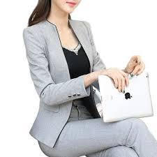vetement de bureau 2015 hiver mince vêtements de travail élégante femmes pantalon