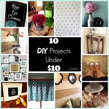 10 DIY Projects Under 10