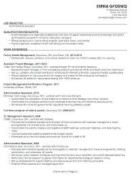Executive Assistant Resume Objective Objectives Administrative Me Fitted Icon Examples For