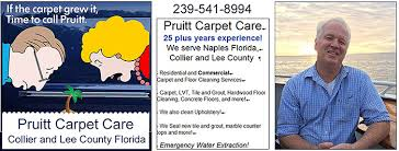 pruitt carpet care carpet cleaning and collier county florida