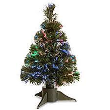 National Tree Fiber Optic Ice Pre Lit Christmas