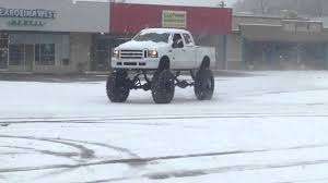 Monster Truck In The Snow - YouTube