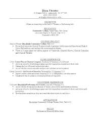 Resume Examples For Freshmen College Students With Current Student
