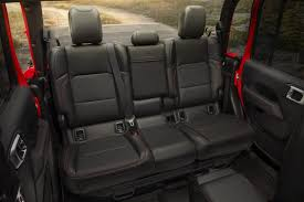 100 Truck Bed Seats 2020 Jeep Gladiator More Than A Wrangler Pickup News Carscom