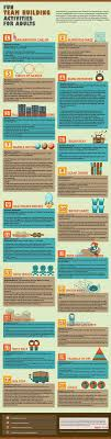 Infographic Source Thankyouforselling 47 Fun Team Building Activities For Adults