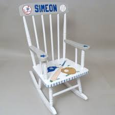 Personalized Hand Painted Rocking Chair - NY Yankees - Personalized ... Custom Sports Personalized Rocking Chair Purple Pumpkin Gifts Baby Walmart Arch Dsgn Luxury Chair Nursery Chairs Bunny Clyde Relax Tinsley Rocker Choose Your Color Walmartcom Storkcraft Hoop Glider And Ottoman White With Gray Cushions Hand Painted Ny Yankees Handpainted Chairkids Chairsrocking Chairrocker Creating An Ideal Nursery Todd Doors Blog Comfy Mummy Kway Jeppe Athletics Base Build House Studio Indoor Great Kids Wooden