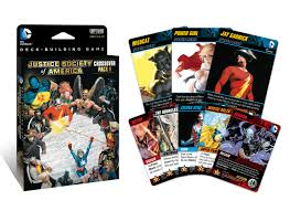 dc comics deck building game crossover pack 1 jsa cryptozoic