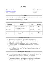 Title For Resume Fresher Kleo Beachfix Co Rh Student Objective Samples