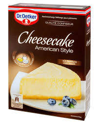 dr oetker backmischung cheesecake american style