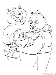 Kung Fu Panda 2 Coloring Book