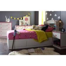 South Shore 6 Drawer Dresser Black by South Shore Logik 6 Drawer Pure White And Pink Dresser 9039027
