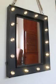14 bulb led light up wall mirror make up mirror room mirror