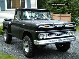 100 61 Chevy Truck 19 Apache 4x4 Chassis