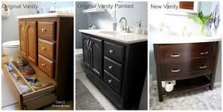 Charming Painting Bathroom Vanity Before And After P61 In Stunning Home Decor Ideas With