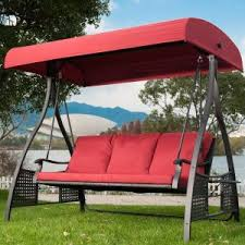 Outdoor Glider Swing Seat For Outdoor —