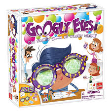 Amazon Googly Eyes Game Family Drawing With Crazy Vision Altering Glasses Toys Games