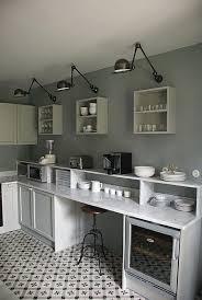 cuisine laqu馥 blanche plan de travail gris peinture laqu馥 cuisine 100 images id馥 couleur peinture