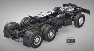 100 Truck Chassis Maxim Plyusnin