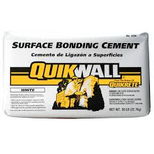 Quikrete Self Leveling Floor Resurfacer by Quikrete Quikwall 50 Lb White Surface Bonding Cement 123050 The