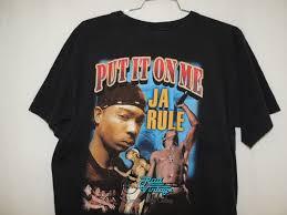 Ja Rule Vintage Rap Hip Hop Concert Tour T Shirt