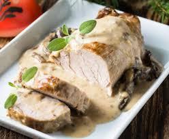 cuisiner noix de veau rôti de veau en cocotte aux chignons recette de rôti de veau