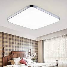 48w weiß led deckenleuchte eckig deckenle ultraslim wohnzimmerle badleuchte schlafzimmerleuchte beleuchtung innenleuchte silber energiesparende