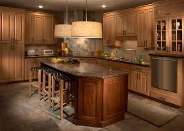 Maple And Cherry Kitchen Traditional