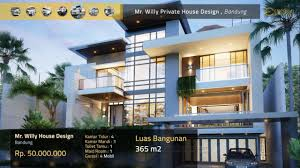 100 House Design By Architect Private 34 Tropical Modern Style By Emporio