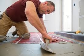 outstanding how to install fancy ceramic tile flooring with heated
