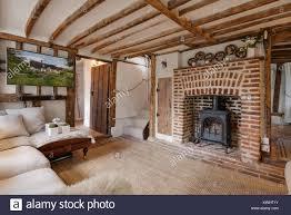 kleines wohnzimmer im 16 jahrhundert englisch holz gerahmt