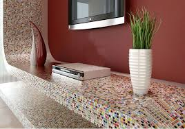 Bathroom Mosaic Mirror Tiles by Glaze Porcelain Mosaic Tile Colorful Kitchen Wall Tiles Small Ceramic