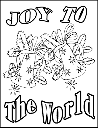 Christmas Religious Coloring Pages Printable 2