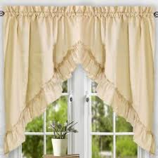 White Cotton Kitchen Curtains by Decor Cafe Curtains To Complement Any Decor U2014 Hmgnashville Com