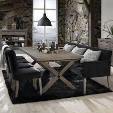 sofabank polsterbank daniel 240 cm velours schwarz küchen