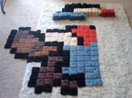 tapis a faire soi meme comment faire soi même un mario en pixel l actualité