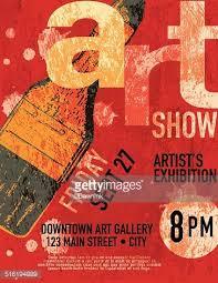 Art Show Poster Design Template
