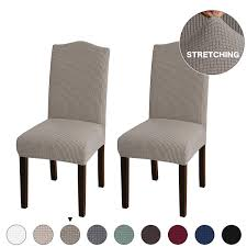 Turquoize Stretch Dining Chair Slipcovers Jacquard Removable Washable  Kitchen Parson Chair Protector Cover Seat Slipcover For Hotel,Dining ... Sure Fit Stretch Pique Box Cushion Ding Chair Slipcover Bree Set Of 2 Taupe Classic Slipcovers Cabana Stripe Short Covers For Roomsilver Grey 6 Velvet Large Aegis Armchair Contemporary Modern Fniture Modway Pattern Cover Great Bay Home Plush Washable Summerhill Collection 4 Black Surefit Pearson Details About Fabric Scroll Top High Back Leather Oak Chairs Seat