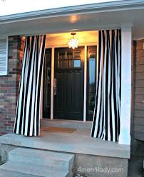 Curtains With Grommets Diy by Outdoor Curtains Patio Ideas With Grommets Outdoor Patio Curtains