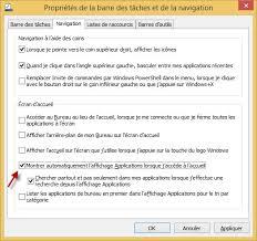 mode bureau windows 8 windows 8 1 afficher toutes les applications dans l écran d