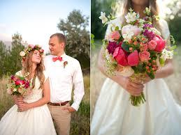 Floral Head Wreath Organic Natural Wedding Bouquet Utah Flowers Calie Rose