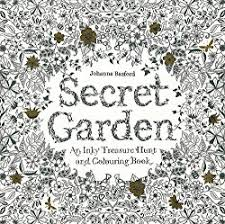 It Is Removable And Ready To Color Reveals Another Huge Intricate Drawing Of Flowers Also Secret Garden Coloring Book