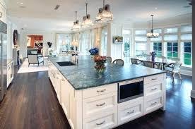 Open Floor Plan Kitchen Living Room Fine Design Dining