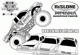 Monster Truck Coloring Pages - GetColoringPages.com Stunning Idea Monster Truck Coloring Pages Spiderman Repair Police Truck Coloring Pages Trucks Of Fresh Color Best Free Maxd Page Printable Coloring Page How To Draw A 68861 Blaze Unique Top Image Monstertruck Bargain Sheets 2655 Max D For Kids Transportation Jam Page For Kids