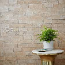 muratto cork wall covering white west elm