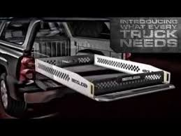 BedSlide Truck Bed Drawers Features Promo Video